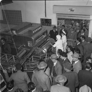 Visite allo stabilimento della cittadinanza 1959